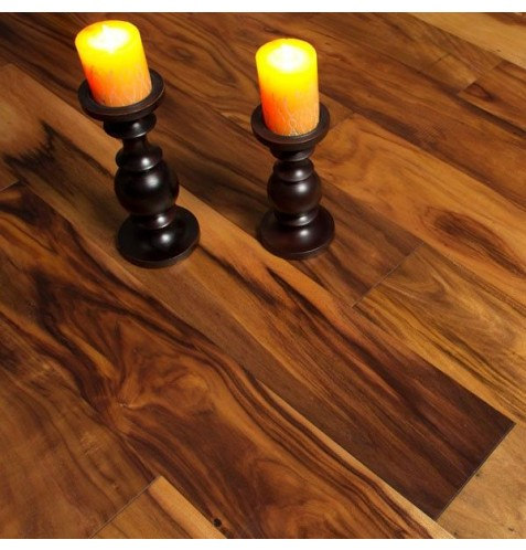 """Hand Scraped Oil Finished Natural Acacia 7"""""""